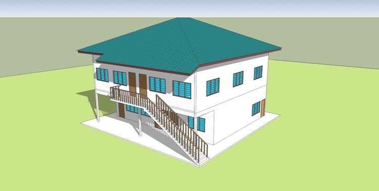 Bangunan Wakaf Madrasah Annuur 1