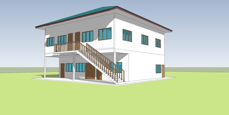 Bangunan Wakaf Madrasah Annuur 2