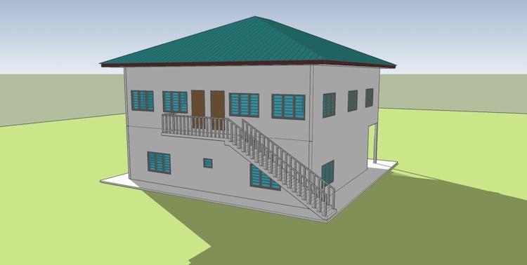 Bangunan Wakaf Madrasah Annuur 5